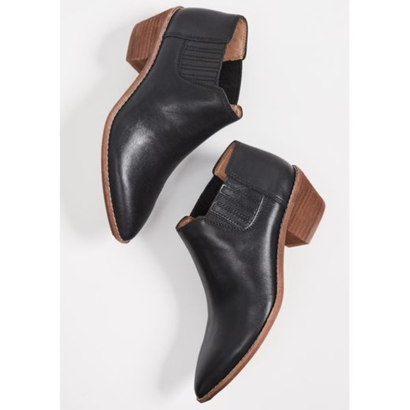 Madewell The Myles Ankle Boot Black